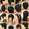 Some Hair Updos Inspiration_Part 1 (Bridal, Prom, Party, Holiday, Celebrity & Natural Look)