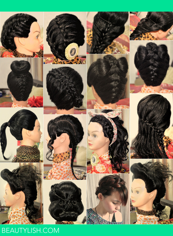 Some Hair Updos Inspirationpart 1 Bridal Prom Party Holiday