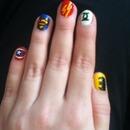 My Superhero Nails <3