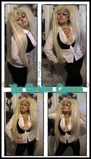 I attempt my take on the Goblin King. Turned Jareth into a female and presto!