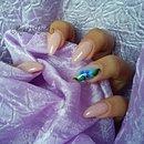 Nude Nails/Nail Art/Rose Nails/Nails