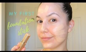 Trying My First Foundation Stick EVER + Check-Ins