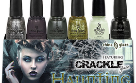 China Glaze Releases Halloween Nail Polishes!