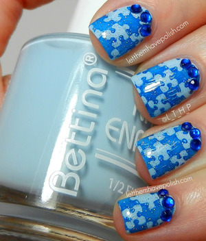 For more details visit: http://www.letthemhavepolish.com/2013/04/in-bettina-blues-for-world-autism.html