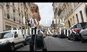 UNIQUE WAYS TO LAYER & WINTER OUTFITS OF THE WEEK | Style Vlog 3