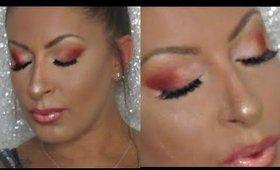Cranberry Halo | Anastasia Beverly Hills | Modern Renaissance Makeup Tutorial