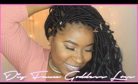 How To Diy Faux Goddess Loc Extensions | Lovebeautista | 2016