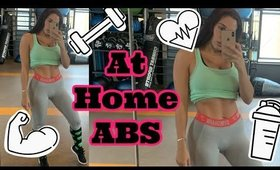 At Home FULL ABS Circuit Workout | Vlogmas Day 24 [2019]