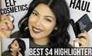ELF COSMETICS HAUL + BEST $4 HIGHLIGHTER | SCCASTANEDA