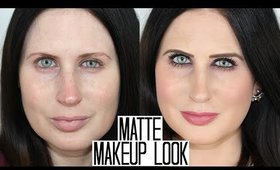 Simple Matte Makeup Tutorial | MATTE EYES & LIPS