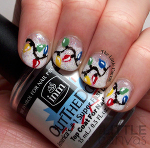 http://www.thelittlecanvas.com/2013/12/christmas-light-nail-art.html