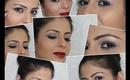 Everyday Fall Autumn makeup 2012