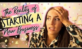 THE REALITY OF STARTING A NEW BUSINESS 😨   VLOG