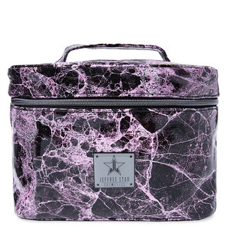Travel Makeup Bag Pink Marble