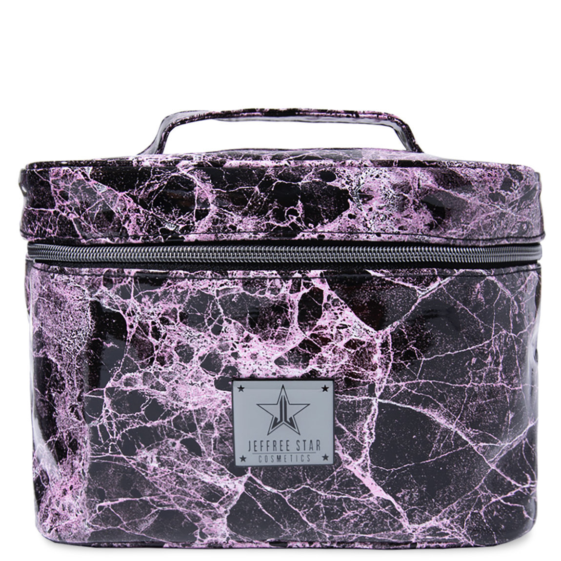 Jeffree Star Cosmetics Travel Makeup Bag Pink Marble alternative view 1 - product swatch.