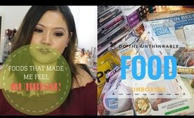 Types Of Food I Now Avoid! & Food Unboxing From Do The Unthinkable