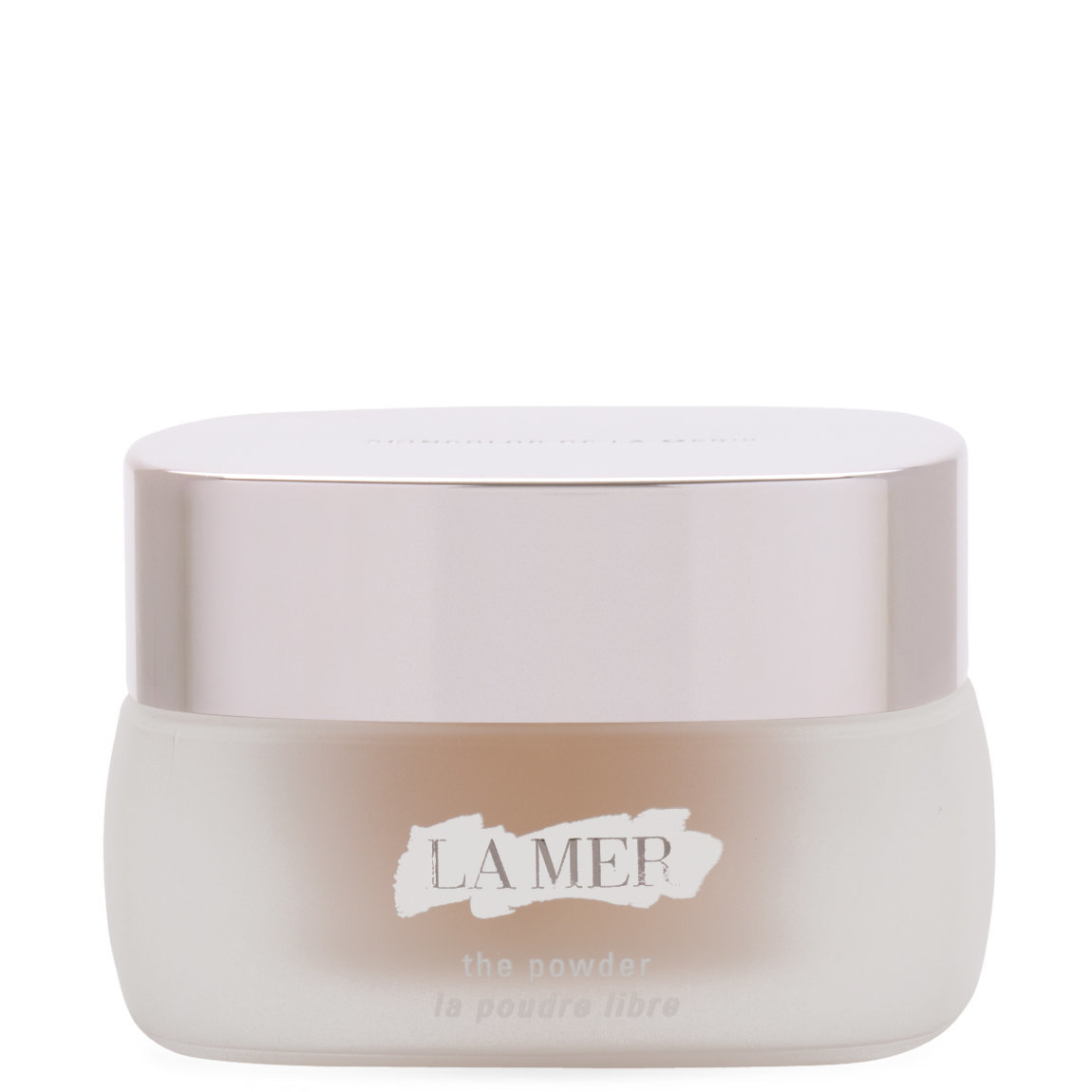 La Mer The Powder product swatch.