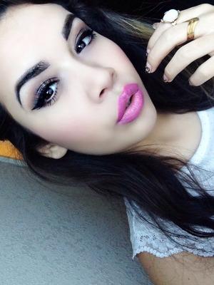 Winged eye liner always <3