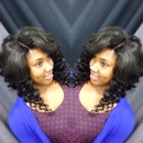 Wand curls and closure