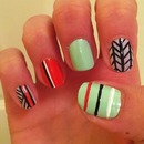 Tribal Nails (Spring)