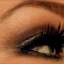Party glitter makeup
