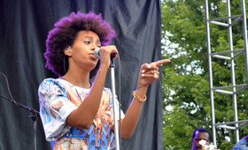 Hairstyles We Loved from Pitchfork Music Fest 2013