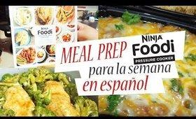 MEAL PREP COMIDA PARA LA SEMANA-RECETAS FACILES*FOODI