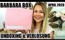 Barbara Box April 2020   Unboxing & Verlosung   Frankas Favorites