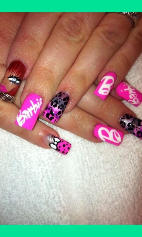 Barbie nails | Jay Y.\'s Photo | Beautylish