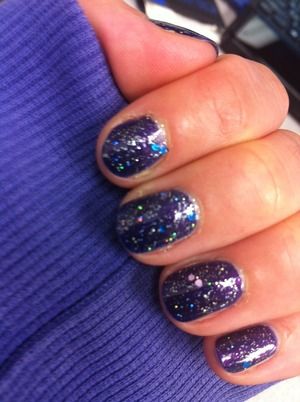 Rimmel, 60 Seconds, #615 Night before Sally Hansen, Hard as Nails, #840 Ice Queen