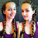 Quick and easy hairstyle