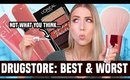 NEW DRUGSTORE MAKEUP... FULL FACE of the BEST (and FAILS)