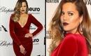 Khloe Kardashian BOLD Lip Oscars MAKEUP TUTORIAL