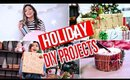 Fun Holiday DIY's | Decor, Gifts, + Treats!