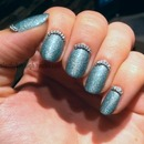 Holo Light Blue And Chains