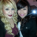 My Gorgeous lil sis and I :)