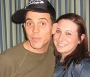 Went to visit Steve-O at his hotel when he was in Boston for his stand up.