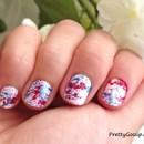 Splatter Paint Nails