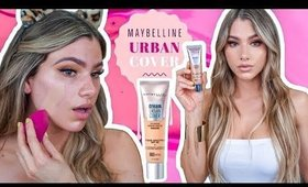 NEW MAYBELLINE DREAM URBAN COVER FOUNDATION REVIEW