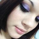 Simple purple eyes