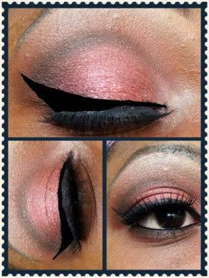 Tutorial of this look on my YouTube Channel @Glamorous Leigh Eje SUBSCRIBE to me (links are on my page) I tried to recreated this look using new products I bought to do reviews on..