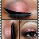 Copper Eyeshadow look
