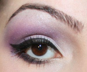 Purple look when I went to a concert :)
