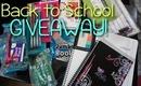 Huge Back-To-School GIVEAWAY! 3 Winners