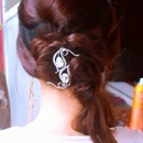 Easy, Wedding Side-Swept Ponytail Hairstyle Updo for Long Hair