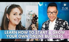 Learn How To Start & Grow Your Own Online Business | mathias4makeup