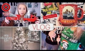CHRISTMAS DECOR HAUL, GRWM + SETTING UP OUR NEW TREE | The Beauty Vault