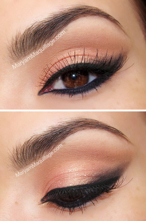 Great for Prom or any formal occasion. Details & how-to on my blog: http://www.maryammaquillage.com/2013/03/bold-beautiful-coral-makeup.html