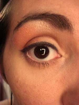 warm smokey eye