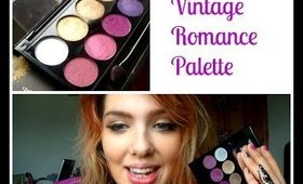 Review!! Sleek Vintage Romance Palette